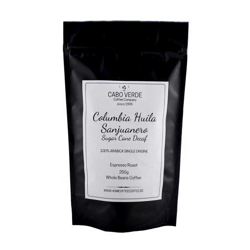 Columbia Huila Sanjuanero Sugar Cane Decaf